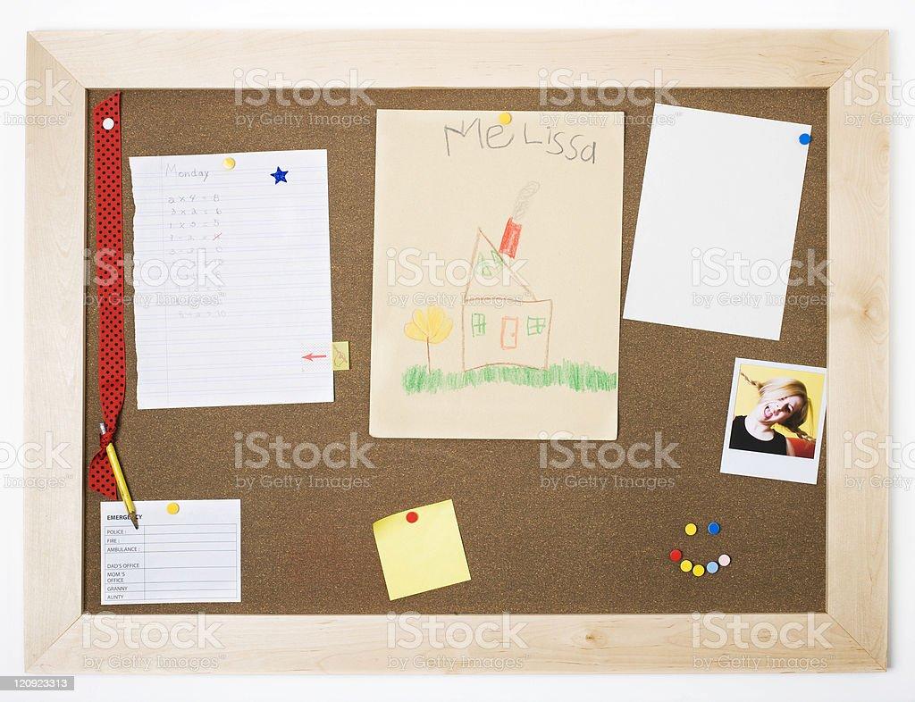 Information board royalty-free stock photo