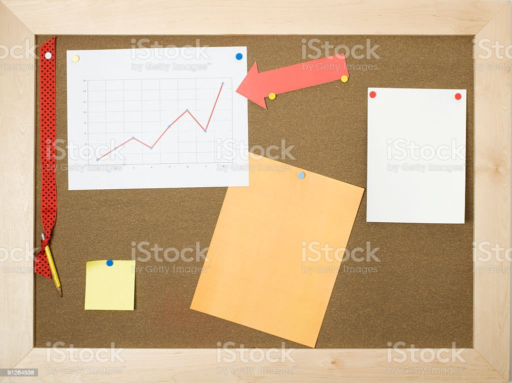 Information board royalty-free stock photo