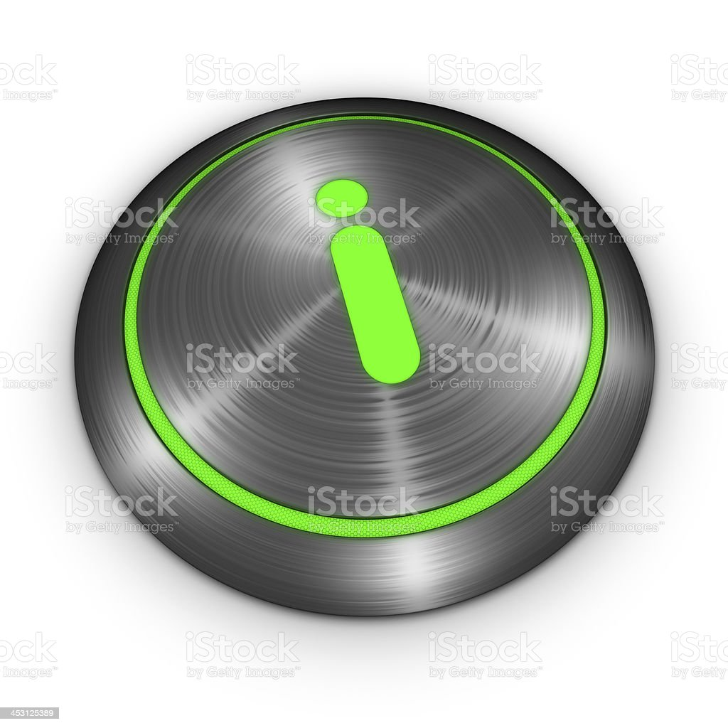 Information Button royalty-free stock photo