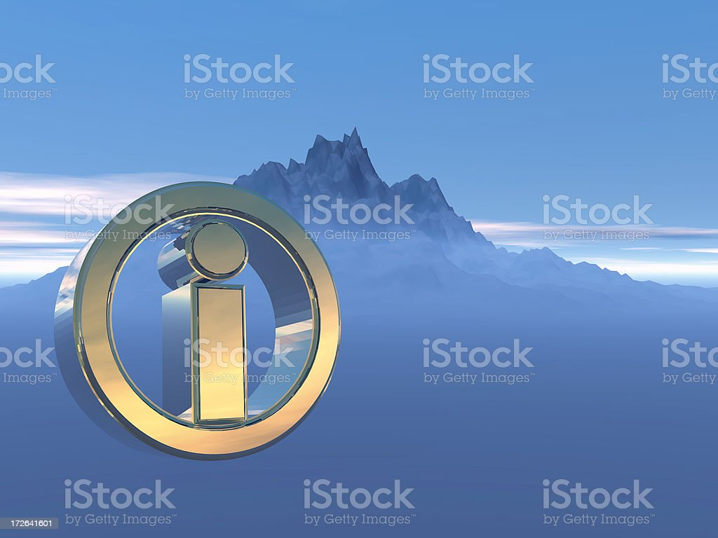 Information in a Cold World royalty-free stock photo