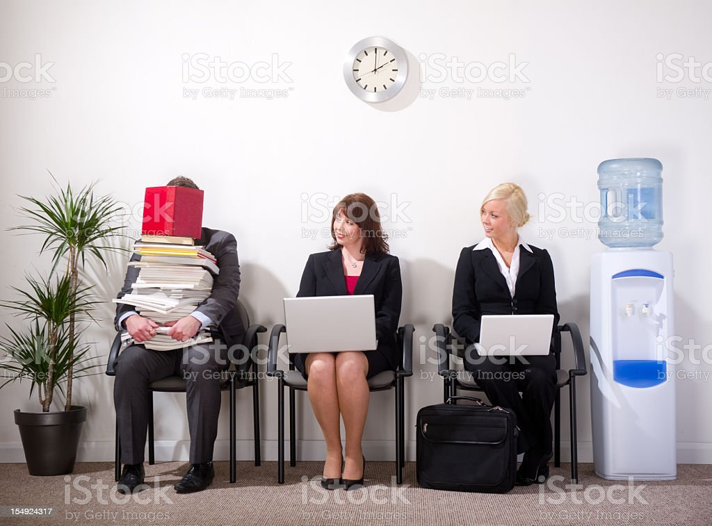 information overload stock photo