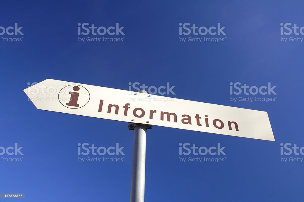 information royalty-free stock photo