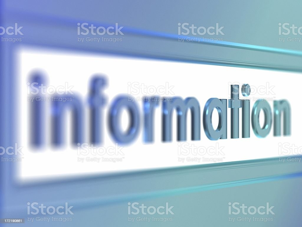 information stock photo