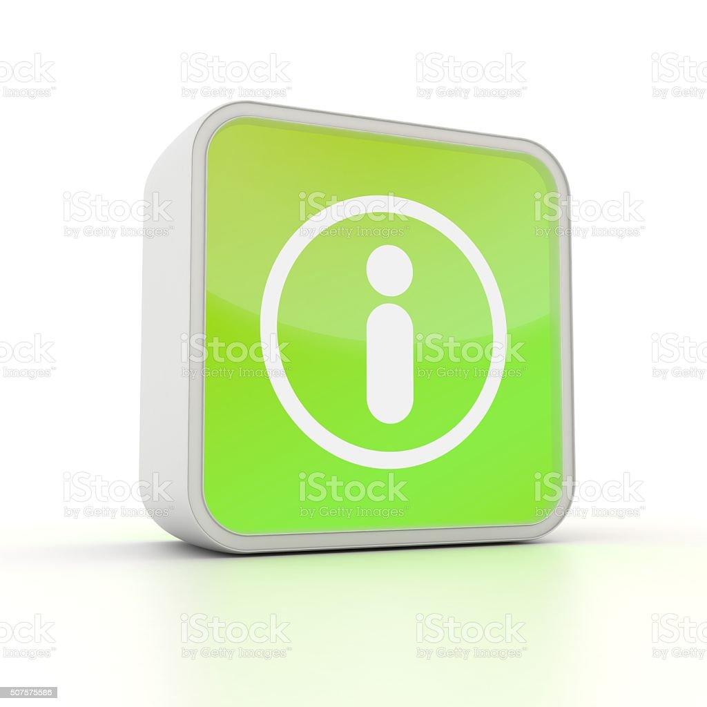 Information symbol computer icon stock photo