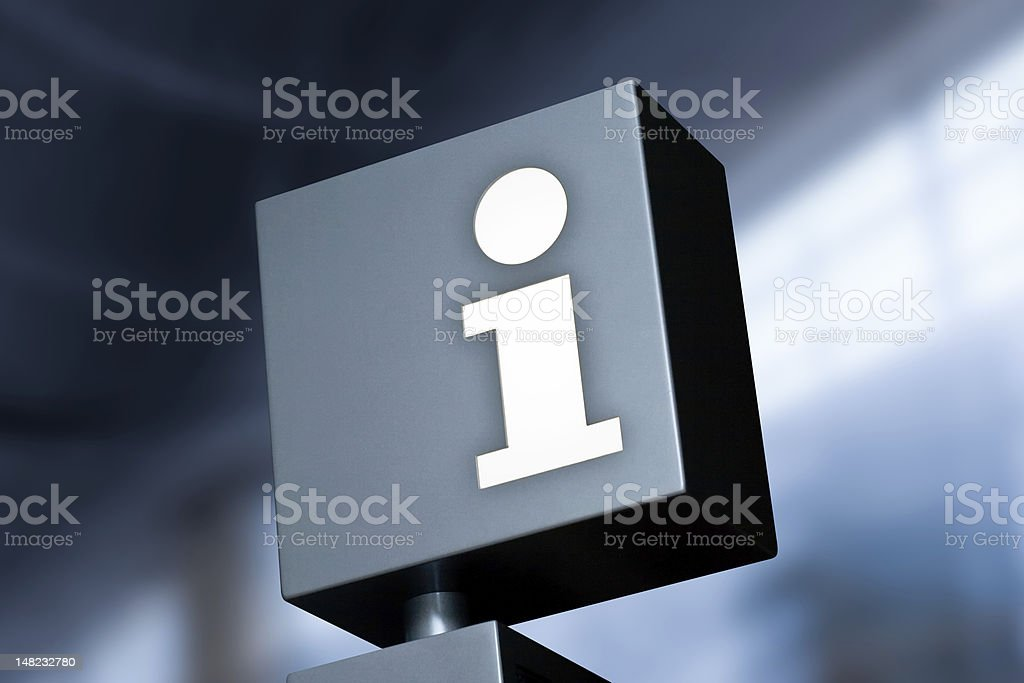 information symbol royalty-free stock photo