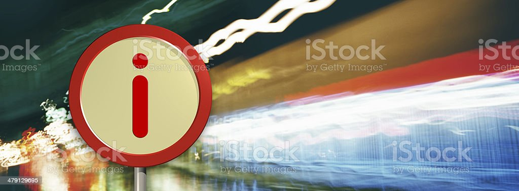 Information Symbol royalty-free stock photo