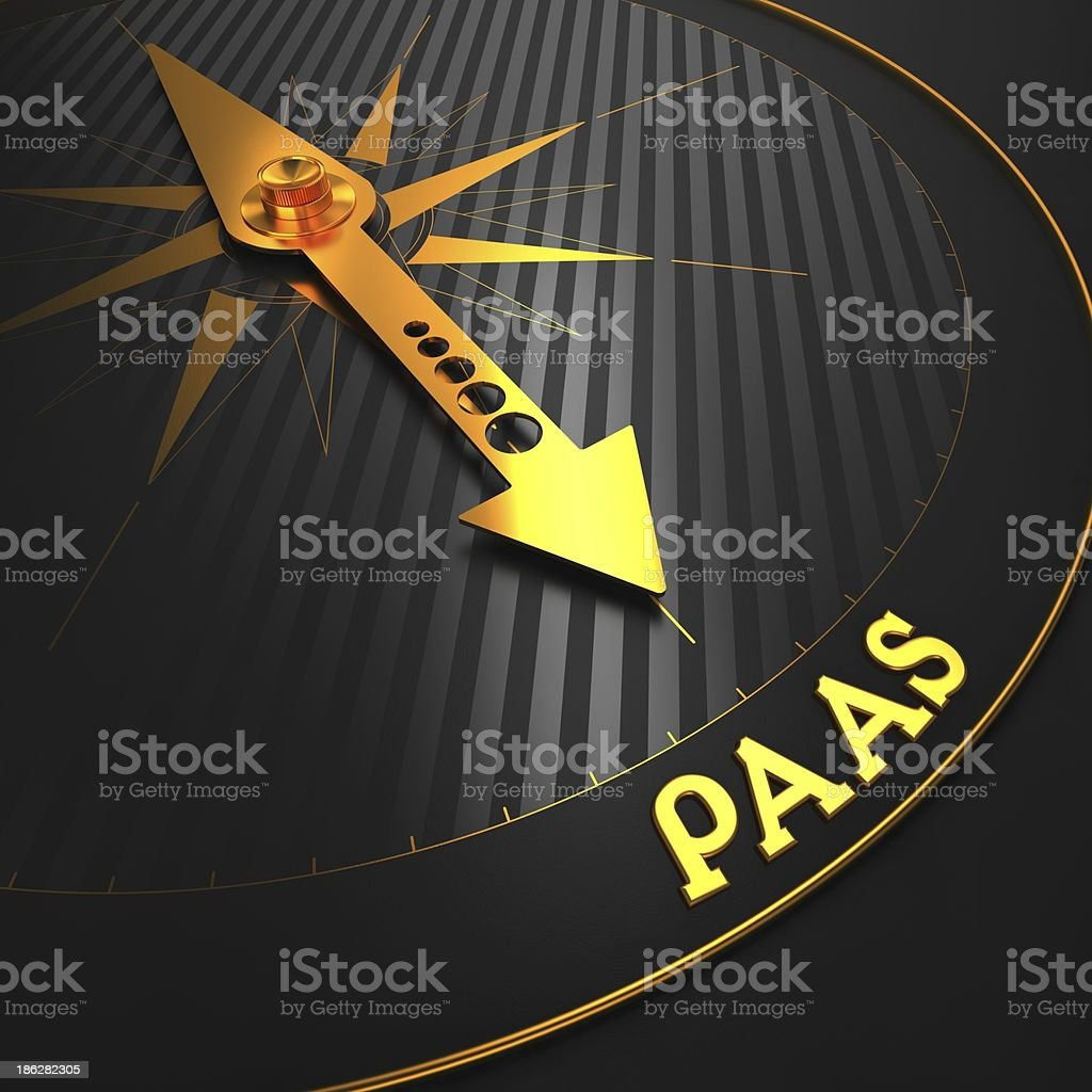 PAAS. Information Technology Concept. royalty-free stock photo