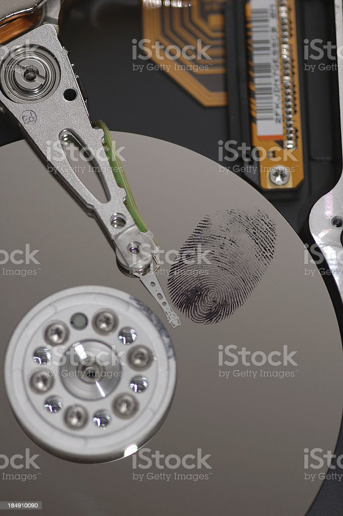 Information Theft 2 stock photo