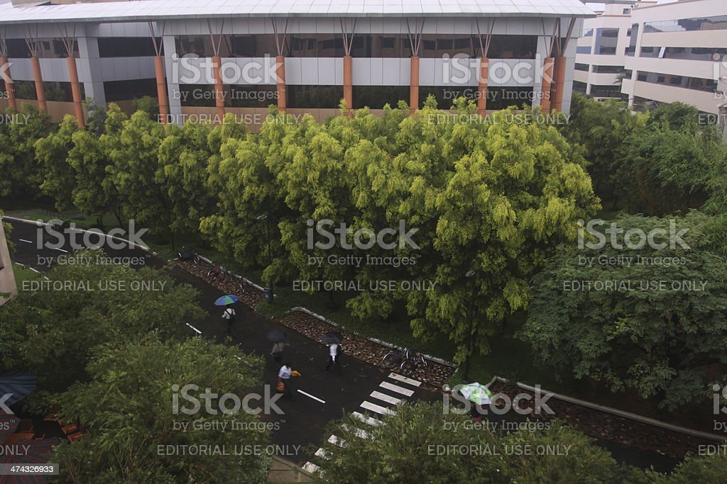 Infosys headquarters in Bangalore, India royalty-free stock photo