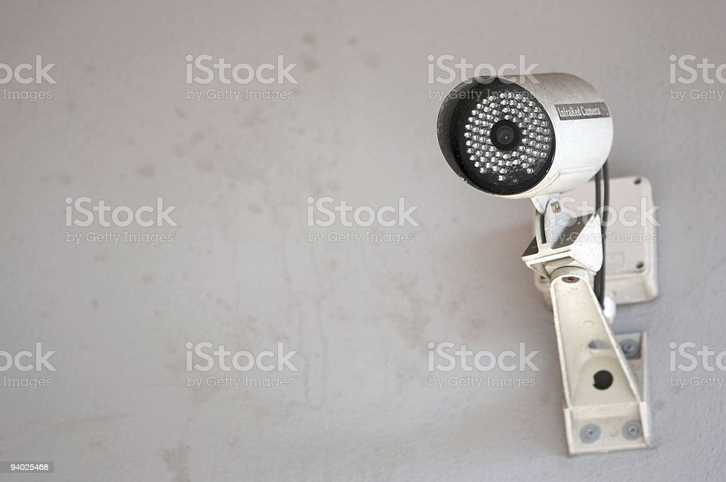 Infra Red CCTV Camera royalty-free stock photo