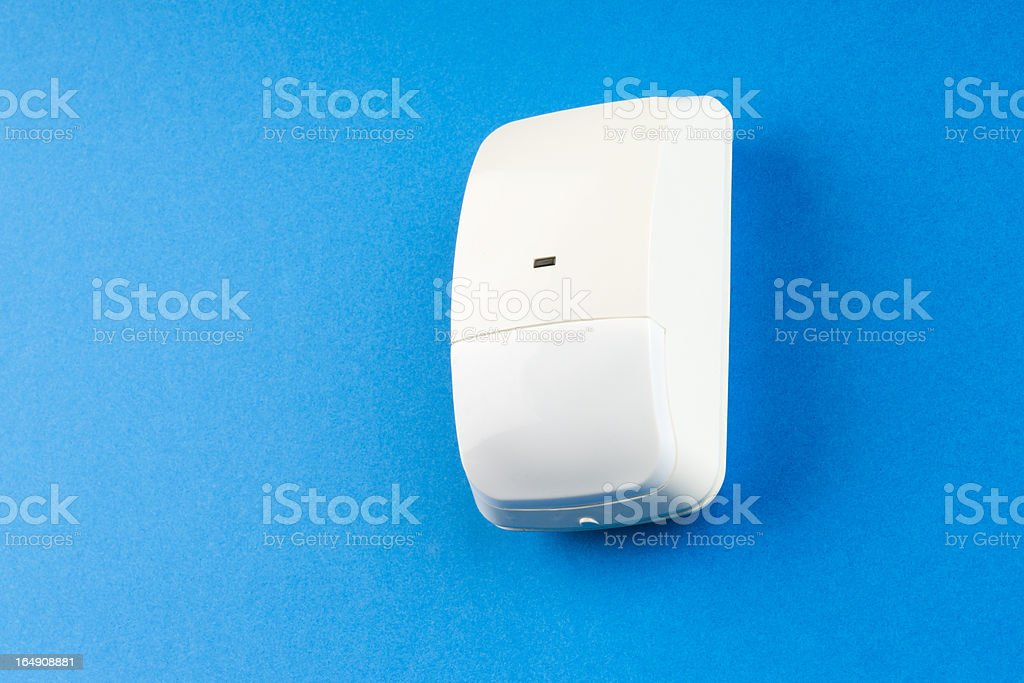 infra red sensor to detect burglars royalty-free stock photo