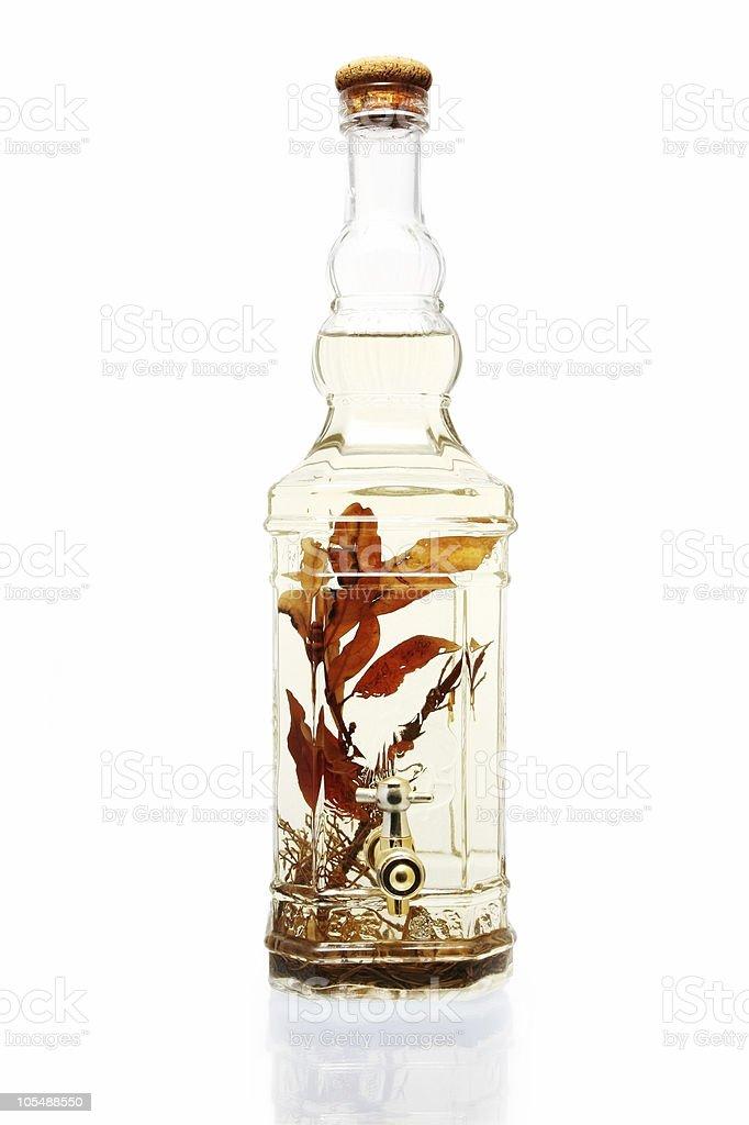 Infused Vinegar stock photo