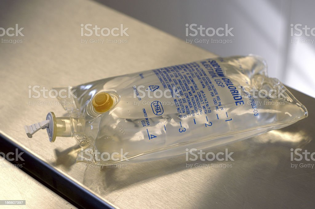 infusion bag royalty-free stock photo
