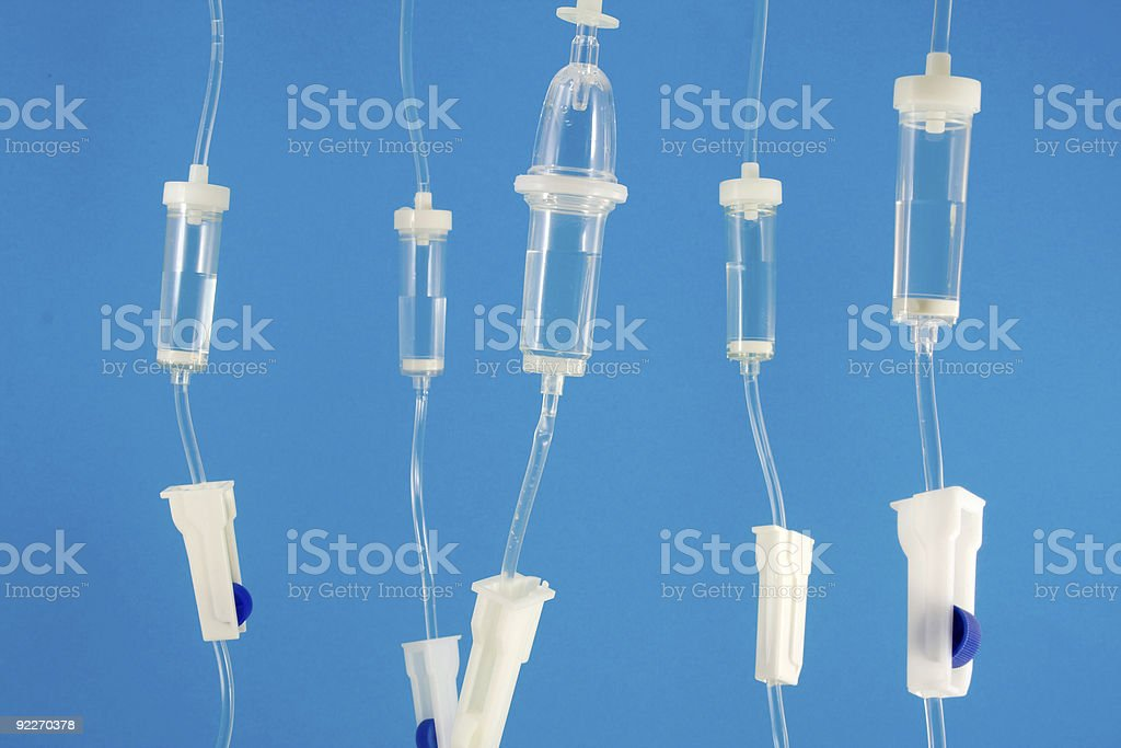 Infusion sets royalty-free stock photo