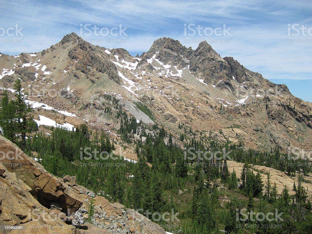 Ingalls Massif, North Cascades National Park royalty-free stock photo