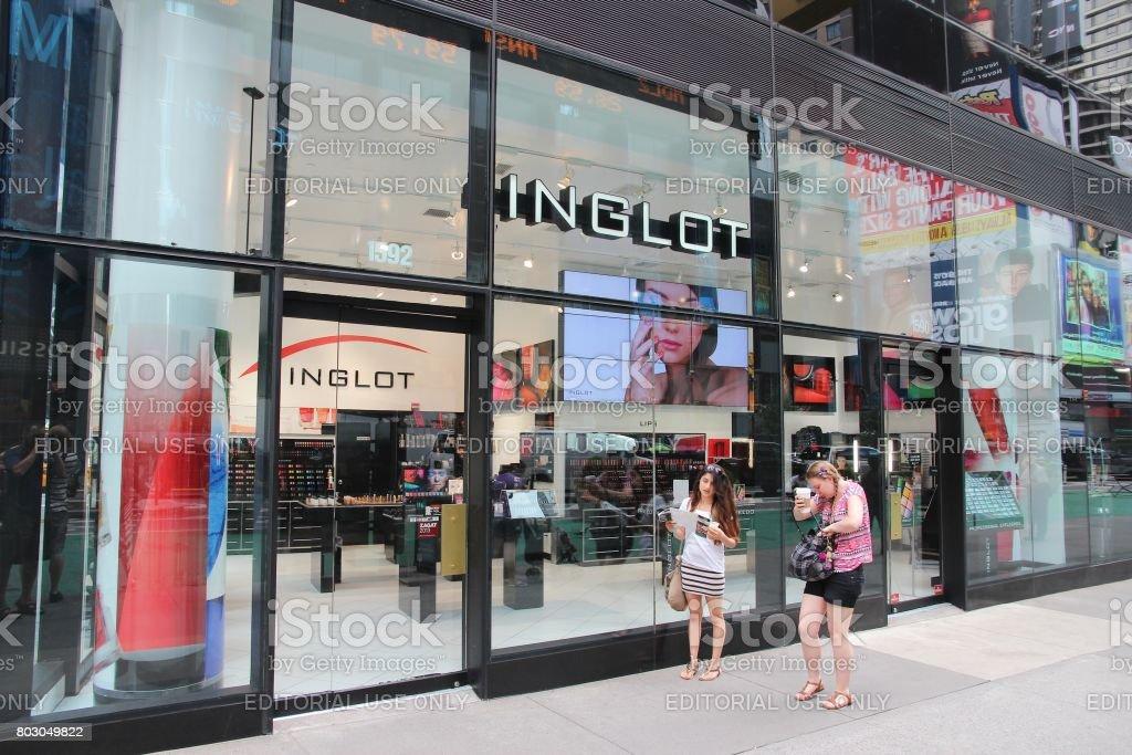 Inglot store stock photo