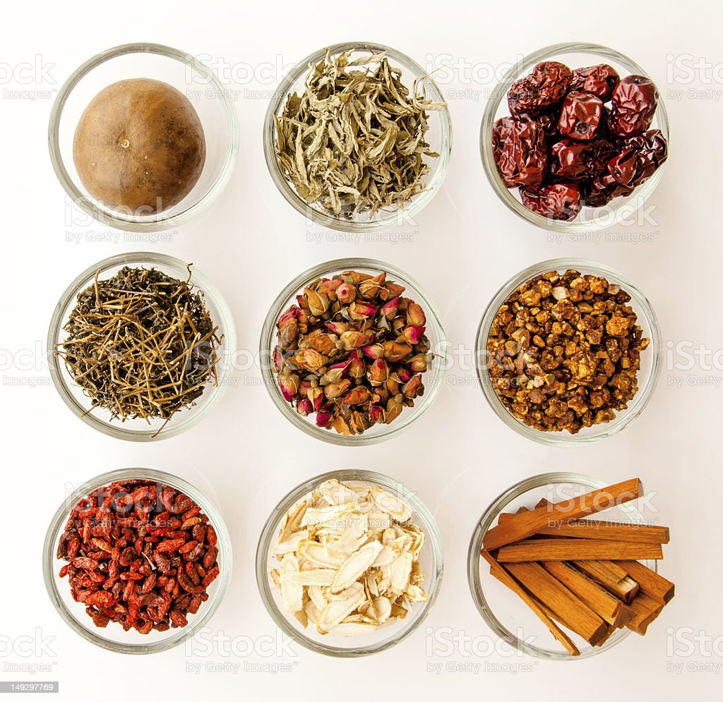 Ingredient for chinese herbal medicine royalty-free stock photo
