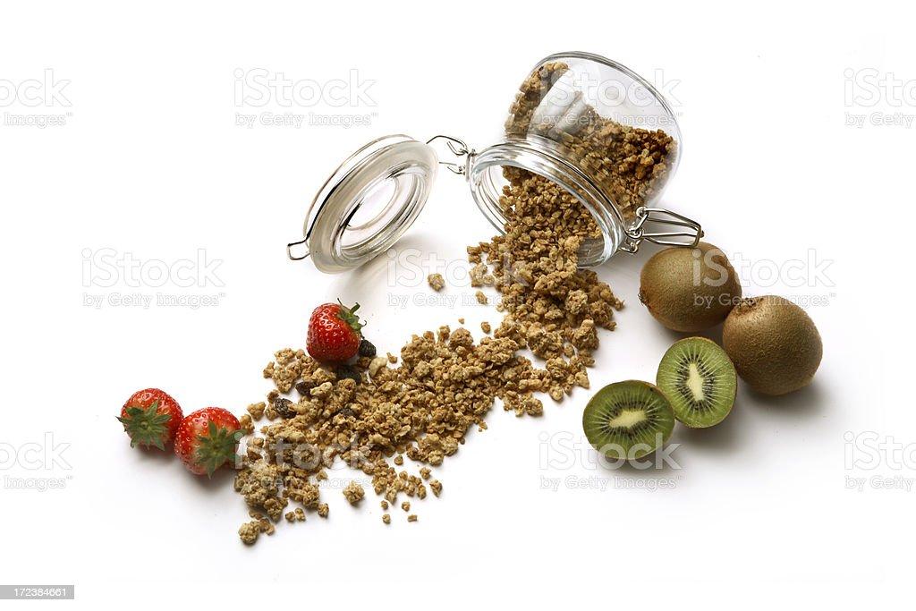 Ingredients: Breakfast royalty-free stock photo