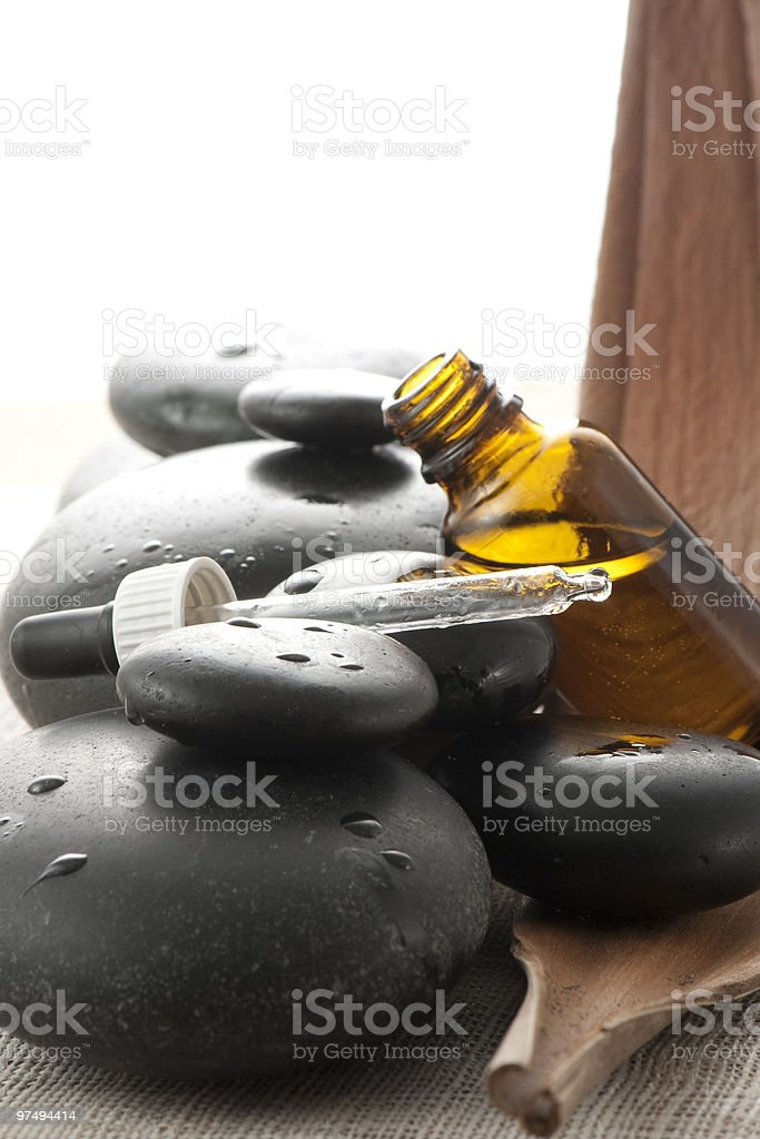 Ingredients for a relaxing adventure royalty-free stock photo