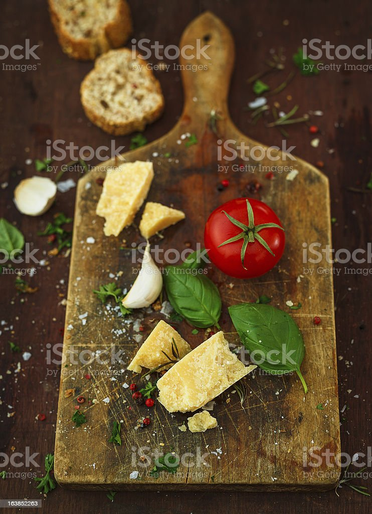 ingredients for italian cuisine royalty-free stock photo