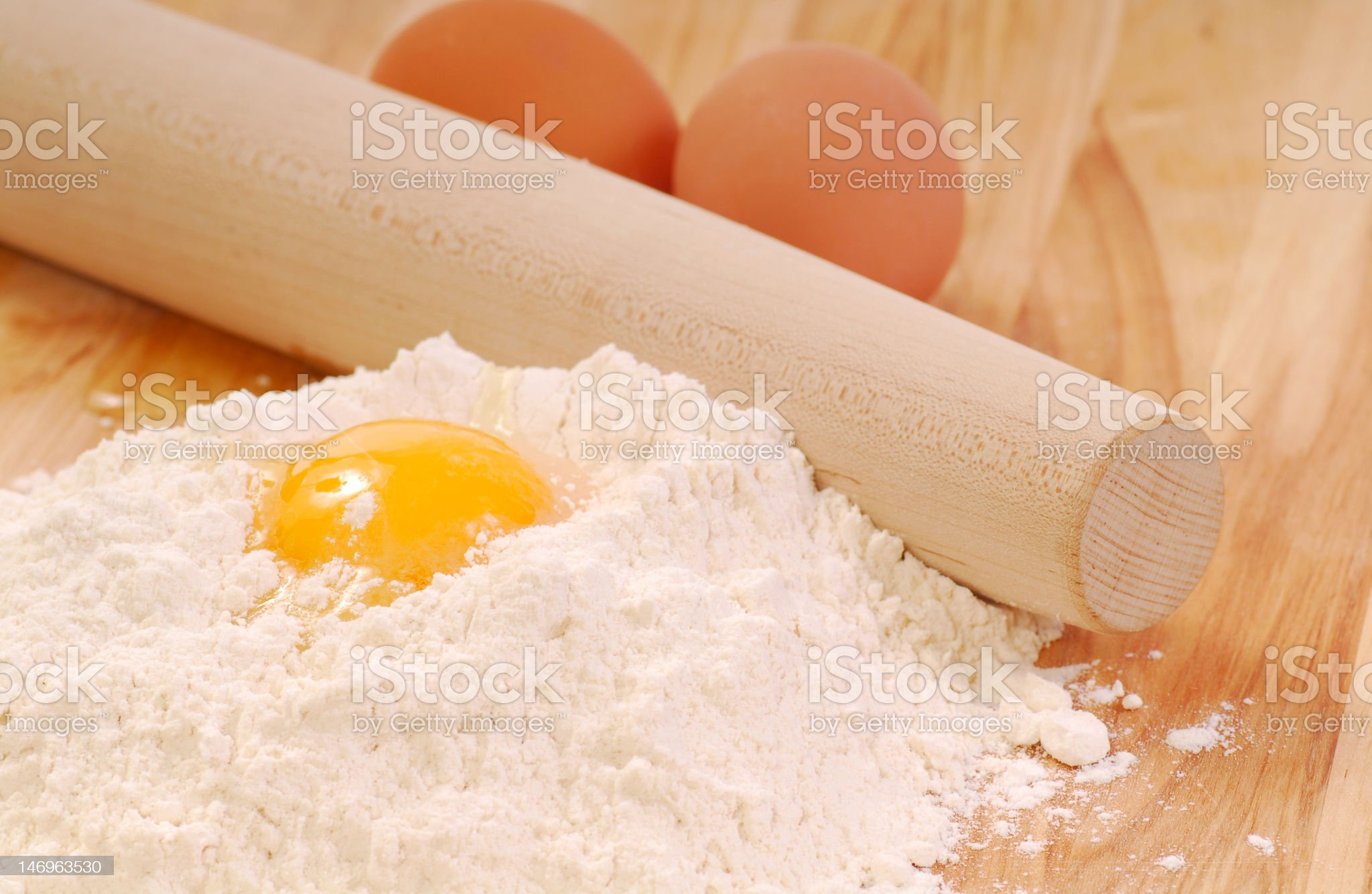 Ingredients for making pasta royalty-free stock photo