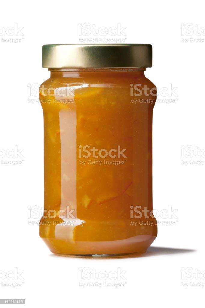 Ingredients: Marmalade stock photo