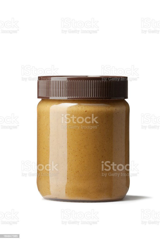 Ingredients: Peanut Butter royalty-free stock photo