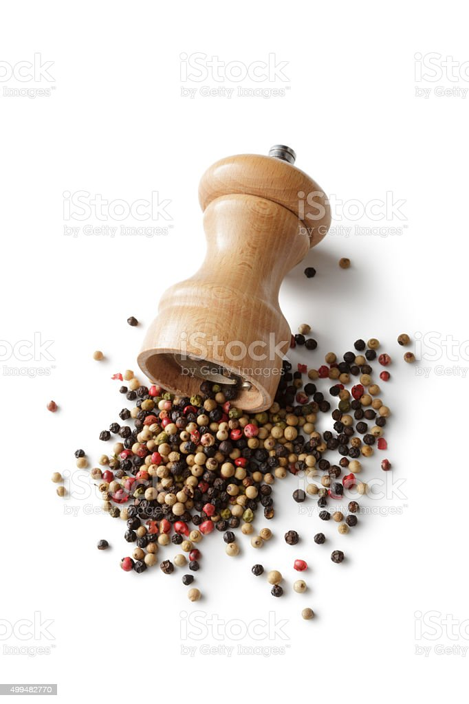 Ingredients: Pepper stock photo