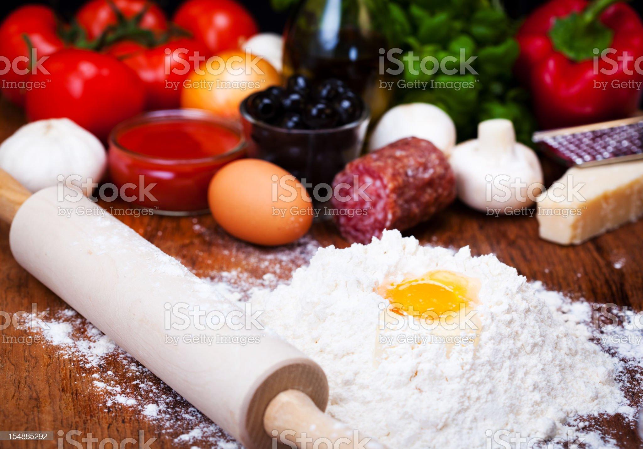 Ingredients royalty-free stock photo