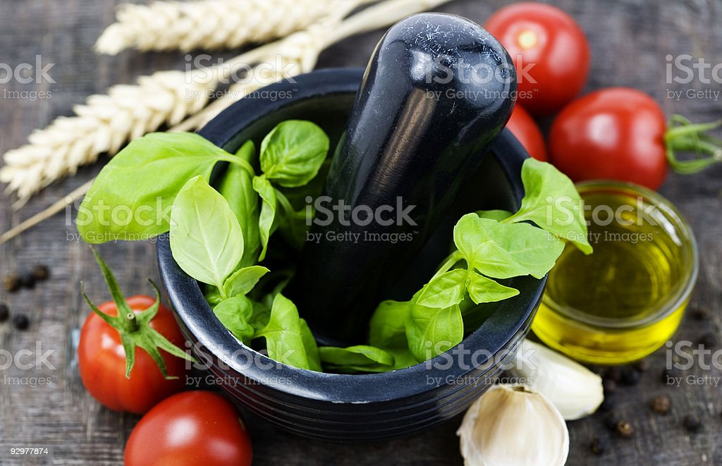 ingredients stock photo