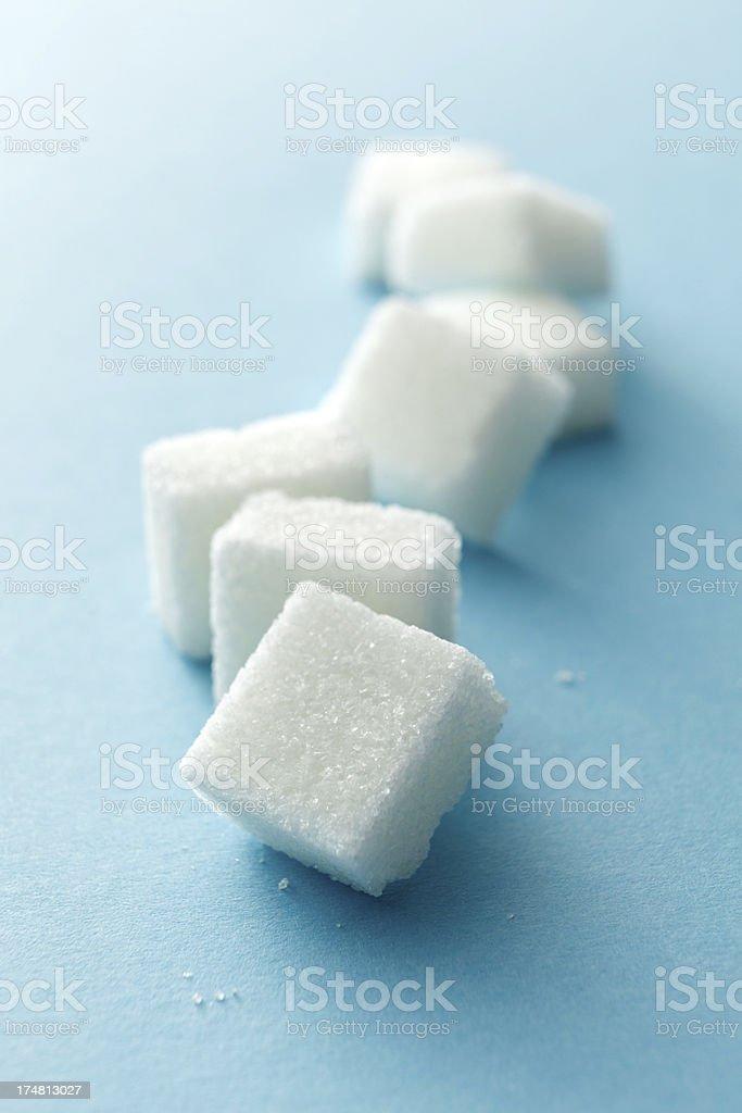 Ingredients: Sugar Cubes stock photo