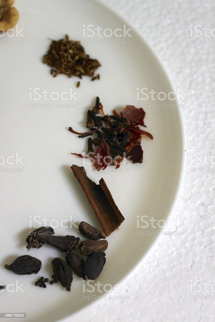 Ingredients used for cooking. stock photo