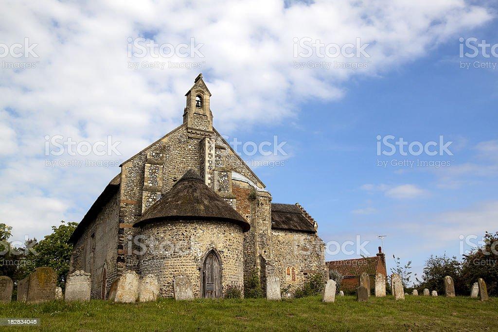 Ingworth church, Norfolk royalty-free stock photo