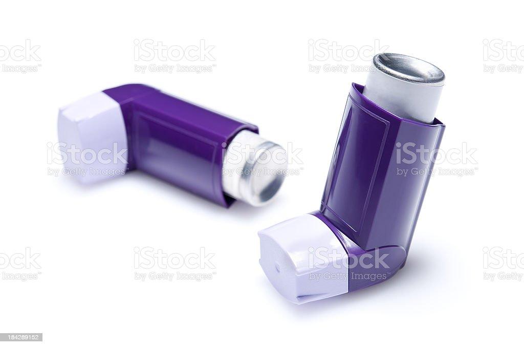 inhalers stock photo