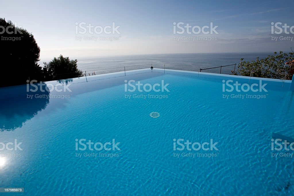 Inifinity Pool royalty-free stock photo