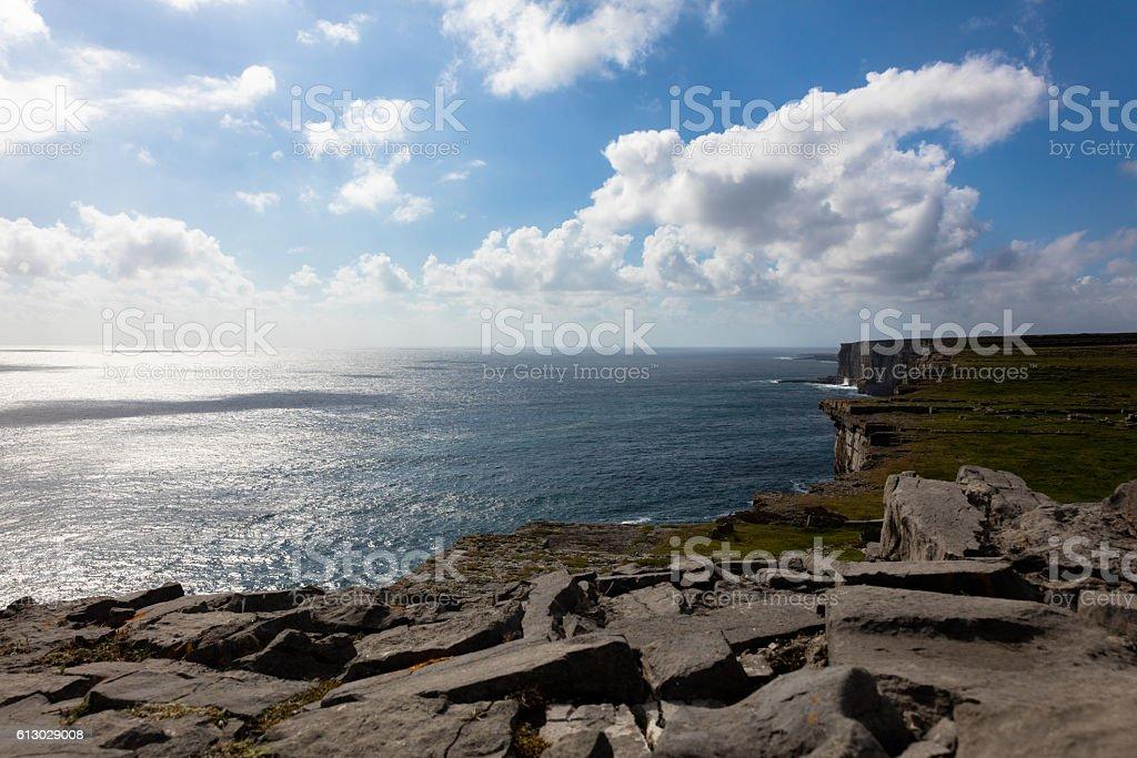Inish more, Ireland stock photo