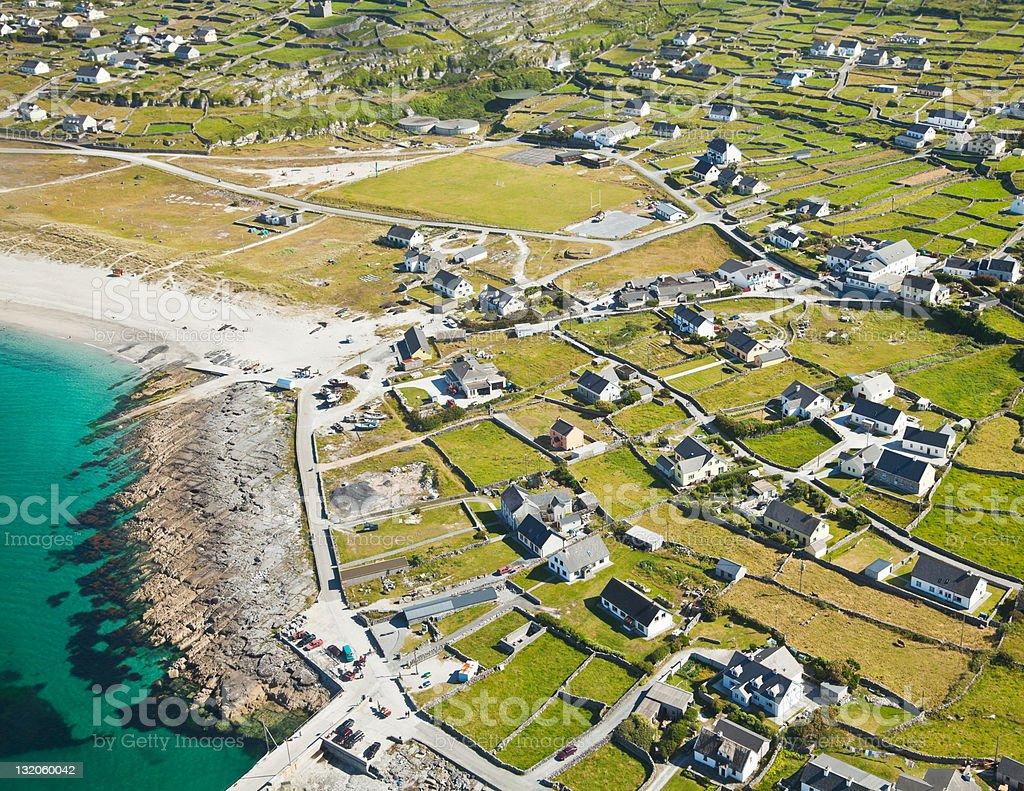 Inisheer island stock photo