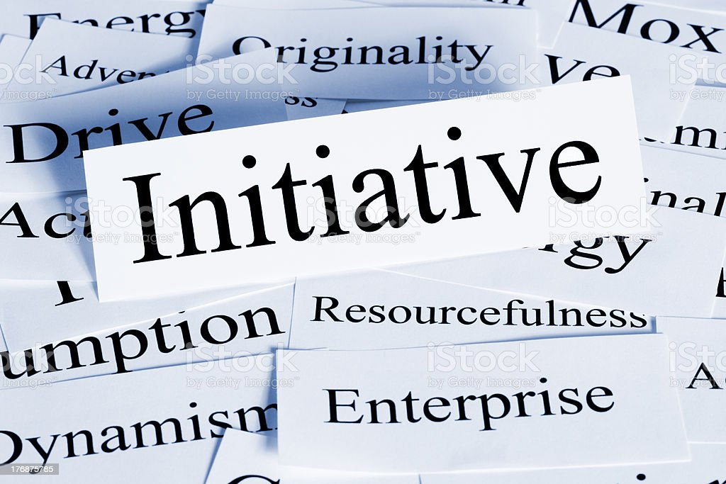 Initiative Concept royalty-free stock photo