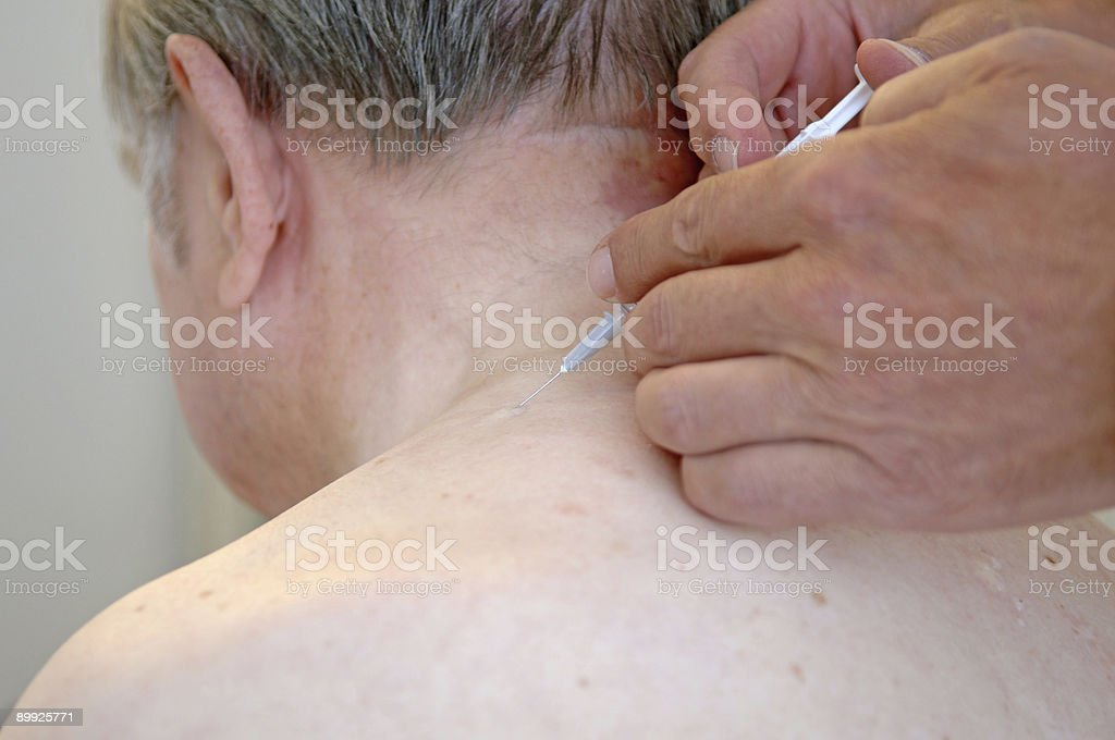 Injection royalty-free stock photo