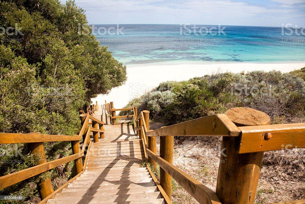 Injidup Beach stock photo