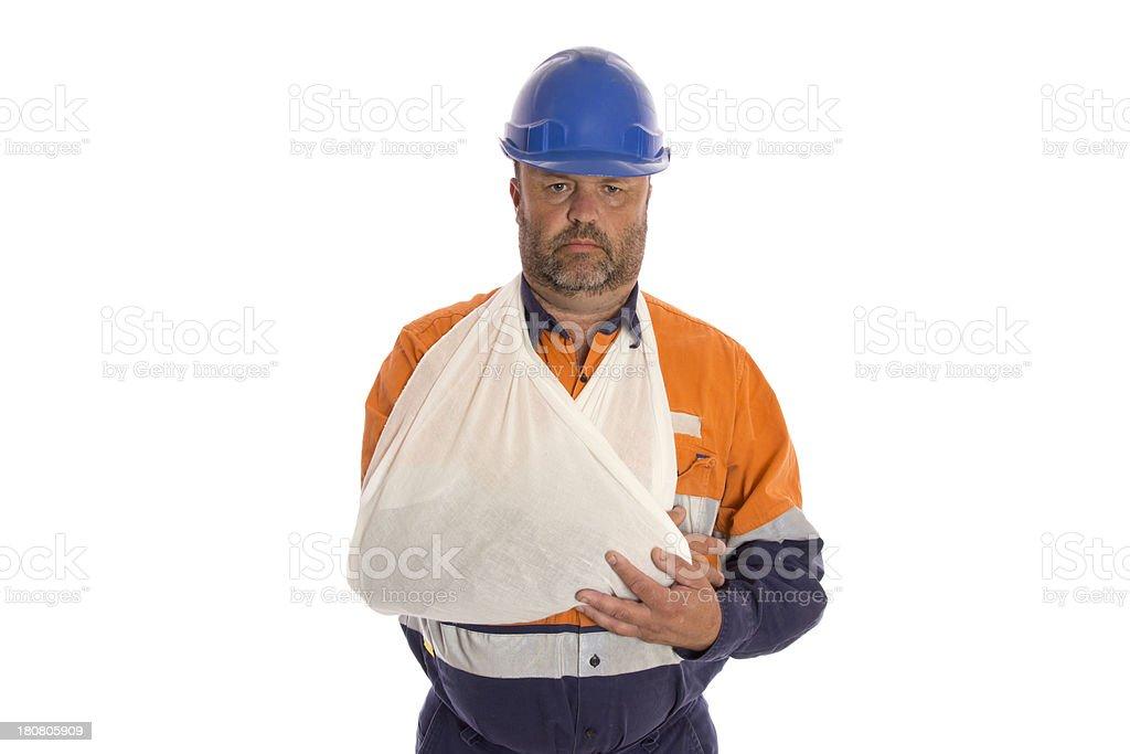 Injured Arm stock photo