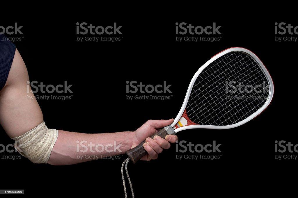 Injured Athlete stock photo