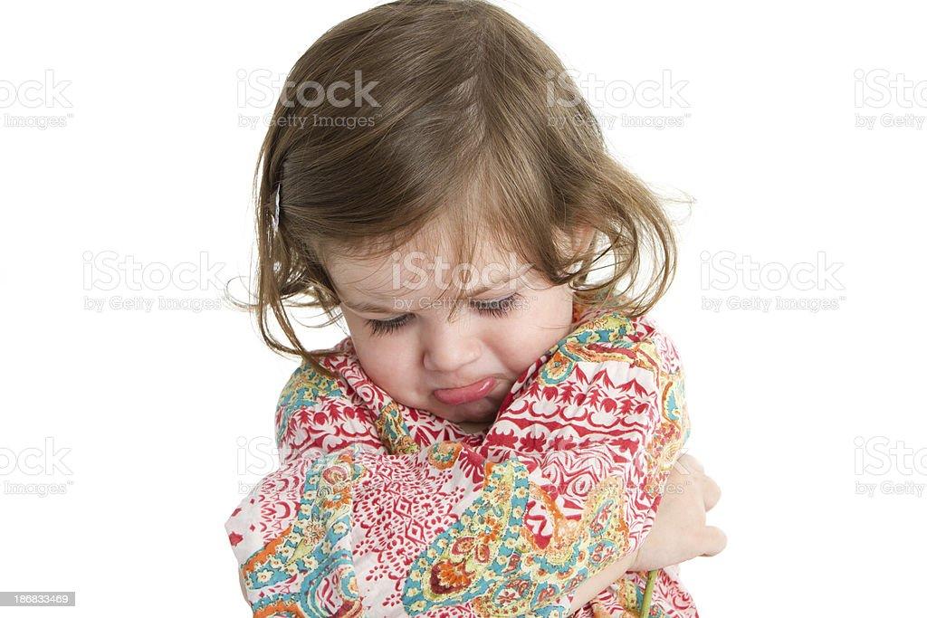 Injured toddler stock photo