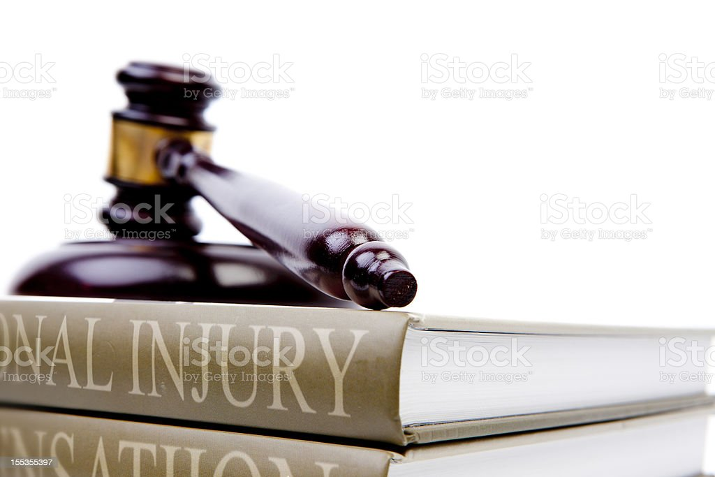 injury law royalty-free stock photo