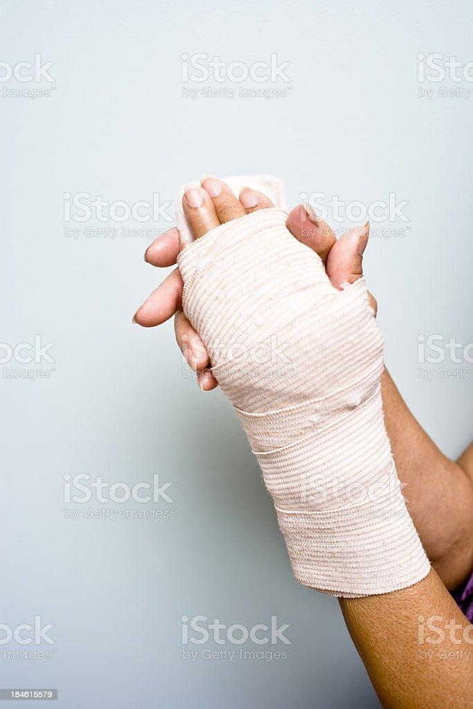Injury royalty-free stock photo
