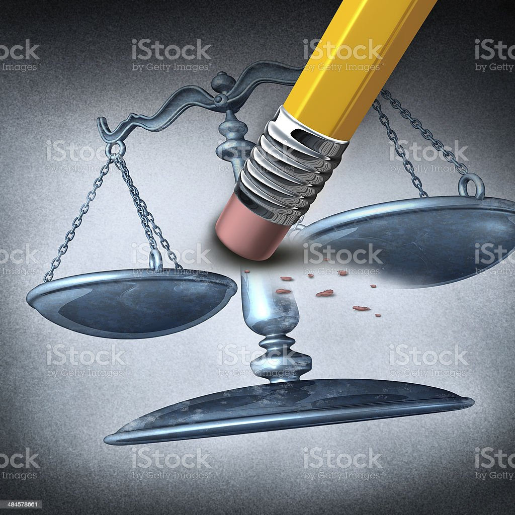 Injustice And Discrimination stock photo
