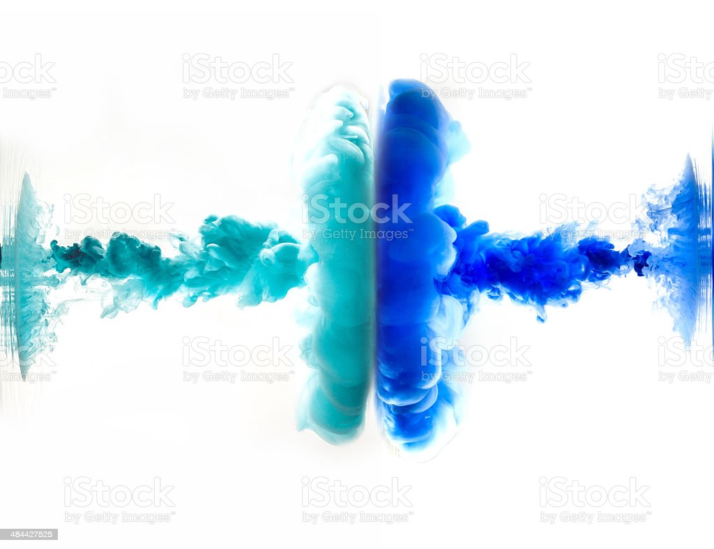 Ink and Water stock photo