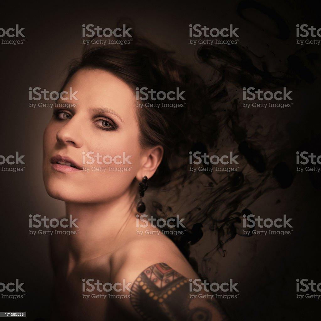 ink blots royalty-free stock photo
