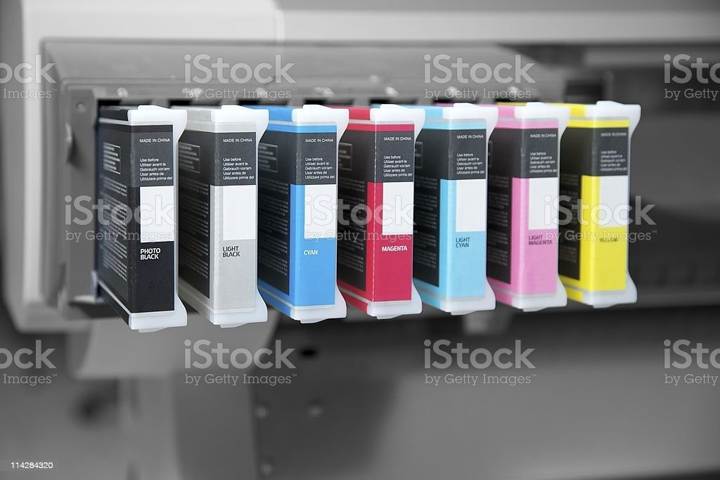 Ink Cartridges... royalty-free stock photo