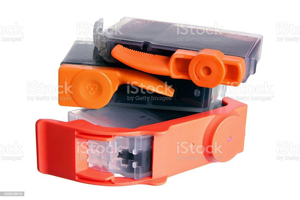 Ink Cartridges stock photo